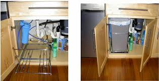 Under Cabinet Trash Can Pull Out by With Pull Out Kitchen Trash Cans In Problems Ecga