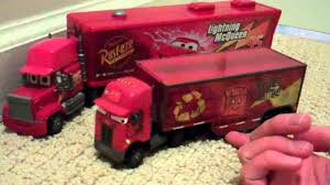 Disney Cars Jerry Recycled Batteries Peterbilt Semi Truck Toy Review ...