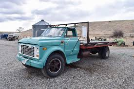 1971 GMC 6500 Truck; OS Flatbed 18'x95