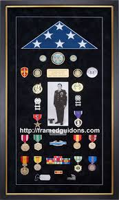 Army Flag Display Case Custom Designed To Reflect A Soldiers Distinguished