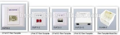 prise murale fiber optique plaque frontale buy product on