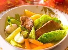 pot au feu sans viande pot au feu de poulet facile et pas cher recette sur cuisine