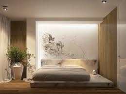 Bedroom Astonishing Awesome Home Decor Decoration In Vogue White Low Profile Bed On Wooden Floors Also Cute Flower Artwork Painting As Inspiring
