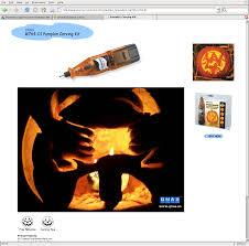 Homestar Runner Halloween Pumpkin by Dremel Pumpkin Carver Slashdot