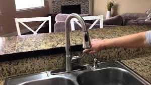Moen Motionsense Kitchen Faucet Troubleshooting by Moen Delaney With Motionsense Kitchen Faucet Youtube