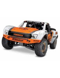 TRA85076-4_FOX UNLIMITED DESERT RACER: 4WD ELECTRIC RACE TRUCK WITH ...