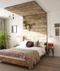 I Absolutely Love How This DIY Wooden Canopy Headboard By House To Home Wraps Up Onto The Ceiling What A Cool Touch Originality Rocks