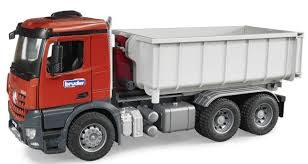 Bruder Toys MB Actros Truck W/ Roll-off Container Kids Play # 03622 ...