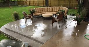 Stamped Concrete Patio Custom Patio or Deck