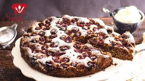 versunkener kirschkuchen mit schokolade low carb rezept