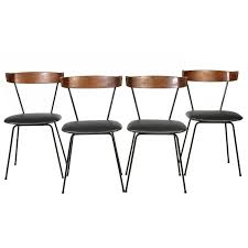 Paul McCobb Iron Dining Chairs Set Of Four