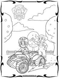 Paw Patrol Coloring Pages | Movies And TV Coloring Pages | Pinterest ...