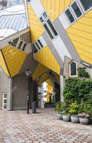 100 Cube House Design S In Rotterdam Netherlands Viewed From The Central