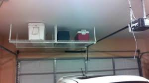 Hyloft Ceiling Storage Unit Instructions by Hyloft 540 45 Inch By 45 Inch Overhead Storage System White
