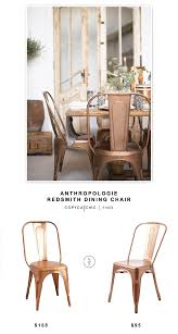 Anthropologie Redsmith Dining Chair - Copycatchic Galleon 2xhome Set Of Four 4 Plastic Side Black Dark Six 6 Clear Large Size Less Armchair Stackable 11430 French Weave Mattress Fniture For Aldwin Gray Ding Table W4 Restoration Hdware Look Less My Fniture Fancy Fix Rooms Room Chairs Rustic Exciting For Tayabas Cane Chair Look Life On Virginia Street Covers Ideas Trends Also Attractive Make And Chairs Trend Adde Black Home Glamour Arts Italian Designer Painted Cream Wood Tables 42 Round Small Spaces And