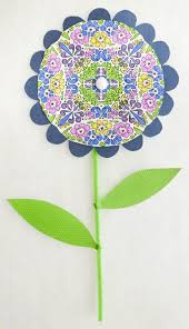 Flowers More Paper Flower Made Using Coloring Page From Modern Elegance Designed By