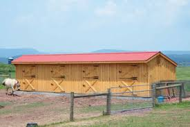 Shed Row Barns For Horses by Shed Row Hillside Structures