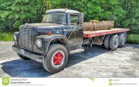 100 Semi Truck Vintage International With Log Load Editorial Photo