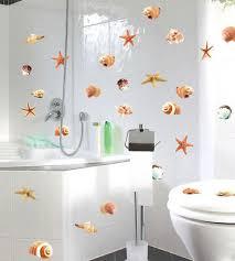 2 x bad deko wand set muscheln badezimmer wc fliesen