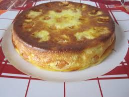 tarte sucree sans pate quelques abricots un peu trop murs à utiliser et voici un petit