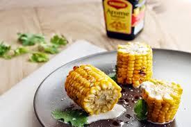 cuisiner des epis de mais epis de maïs grillé sauce au lait de coco une graine d idée