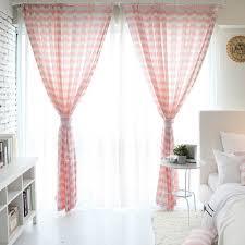 moderne rosa farbe drucken esszimmer vorhang