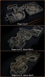 3d Dungeon Tiles Dwarven Forge by Dungeon Of Doom Handcrafted Game Terrain By Dwarven Forge By
