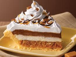 Pumpkin Cheesecake Layer Pie Recipe by Village Inn Pies