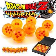 Dragon Ball Z Fish Tank Decorations by 2017 3 5cm New In Box Dragonball 7 Stars Crystal Ball Set Of