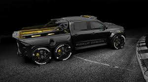 100 Custom Truck Paint Designs 6Wheel Mercedes XClass Is Pickup Of Your Nightmares