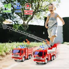 100 Fire Trucks For Sale On Ebay Set Of 2 Truck Engine Toy Water Tender Rescue Ladder Truck
