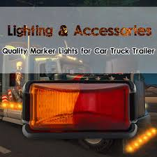 1PC 8 LED SIDE MARKER RED AMBER TRUCK TRAILER CLEARANCE LIGHTS LAMP ... Led Clearance Marker Lights 4x Fender Bed Side Smoked Lens Amber Redfor Whdz 5pcs Yellow Cab Roof Top Running Everydayautopartscom Ford Bronco Ii Ranger Pickup Truck Set Of 2 X 24v 24 Volt Amber Orange Side Marker Light Position Truck Amazoncom Ijdmtoy Peterbilt Led Free Download Wiring Diagrams Lights Installed Finally Enthusiasts Forums Xprite Black Cab Over America On Twitter Trucking Hello From Httpstco