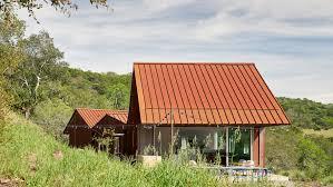 100 Ulnes Mork Uses Corten Steel To Protect Triple Barn Residence In