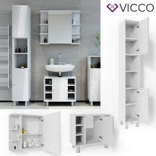badmöbel set fynn weiß hochglanz badezimmer spiegel waschtisch unterschrank badschrank hochschrank