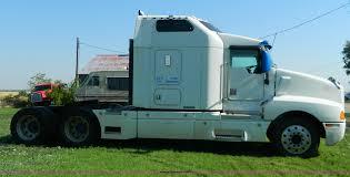 100 Semi Truck Mirrors 1999 Kenworth T600 AeroCab Semi Truck Item B3776 SOLD J