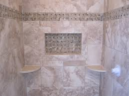 ceramic tile shower stall