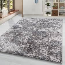 vintage kurzflor wohnzimmerteppich design teppich