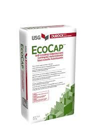 Wood Floor Leveling Contractors by Usg Durock Brand Ecocap Self Leveling Underlayment