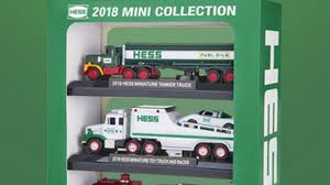 Hess Reveals The Toy Truck Mini Collection For 2018 | Newsday The Hess Trucks Back With Its 2018 Mini Collection Njcom Toy Truck Collection With 1966 Tanker 5 Trucks Holiday Rv And Cycle Anniversary Mini Toys Buy 3 Get 1 Free Sale 2017 On Sale Thursday Silivecom Mini Toy Collection Limited Edition Racer 911 Emergency Jackies Store Brand New In Box Surprise Heres An Early Reveal Of One Facebook Hess Truck For Colctibles Paper Shop Fun For Collectors Are Minis Mommies Style Mobile Museum Mama Maven Blog