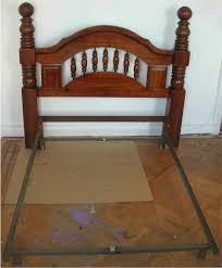 Ebay Queen Bed Frame by Vintage Wood Headboards Zamp Co