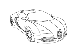 Cool Car Coloring Sheets Book Design For KIDS