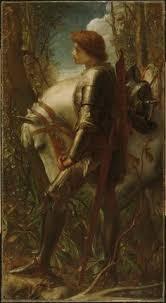 George Frederick Watts Sir Galahad 1860 62 Harvard Art Museums Fogg Pre RaphaeliteRenaissance