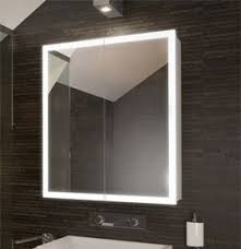 brilliant bathroom cabinets mirrored cabinet with lights on