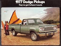 Car Brochures - 1977 Dodge Pickups / Dodge01.jpg