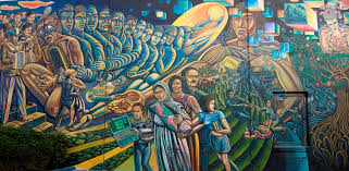 Famous Graffiti Mural Artists by Los Angeles Mural Art Chicano Murals Azzme