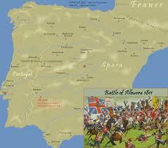 Where Did The Lusitania Sink Map by Battle Of Albuera 1811 Schlacht Von Albuera Bataille Batalla