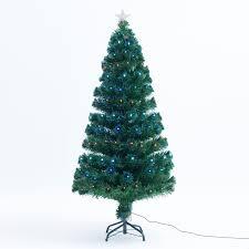7ft Fiber Optic Christmas Tree by Amazon Com 7 U0027 Artificial Holiday Fiber Optic Light Up Christmas