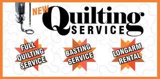 Longarm Quilting Service