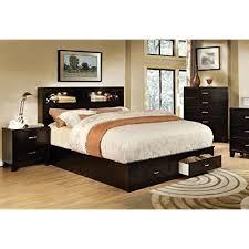 Solid Wood Queen Platform Bed Storage Amazon