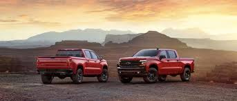 100 Chevy Special Edition Trucks All New Silverado Trailboss